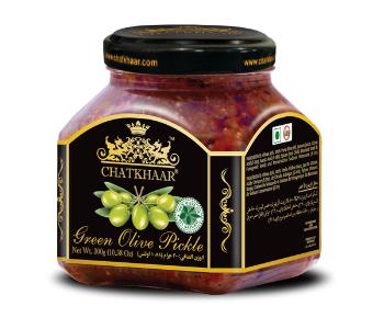 Green Olive Pickle 300 Gm